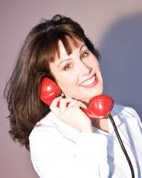 Morgana on the phone