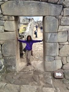 Machu Pichu Entry way