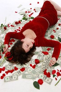 Morgana and Money after the 3rd date