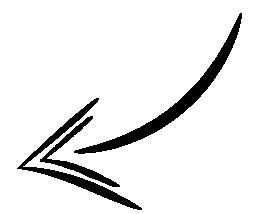 black arrow pointing2